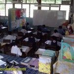 classroom in old building
