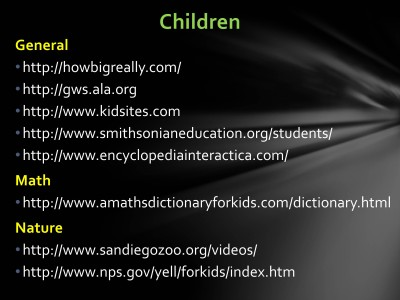 Website for Kids - Slide1
