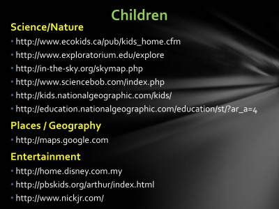 Website for Kids - Slide2